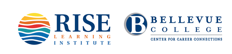 Bellevue College Rise Institute Logo
