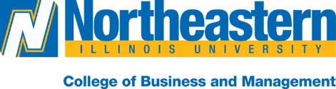 NEIUs College of Business and Management logo