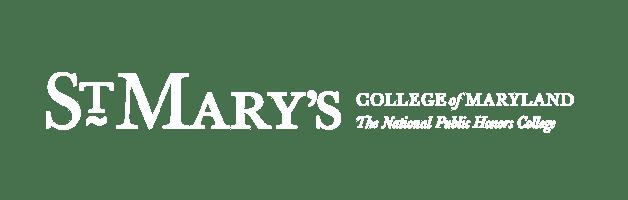 St. Marys College of Maryland - White Logo