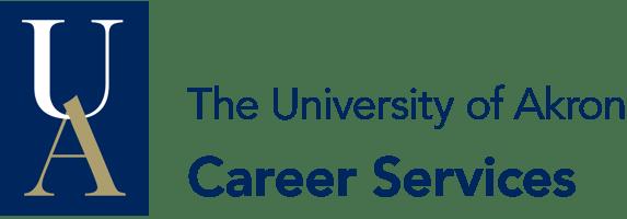 University of Akron Career Services Logo