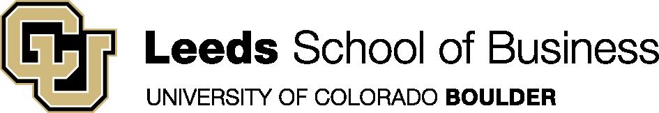 University of Colorado, Leeds School of Business Logo